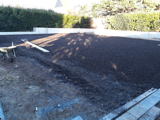 Before - Raised planters and turfing - Mr Heath - Hove