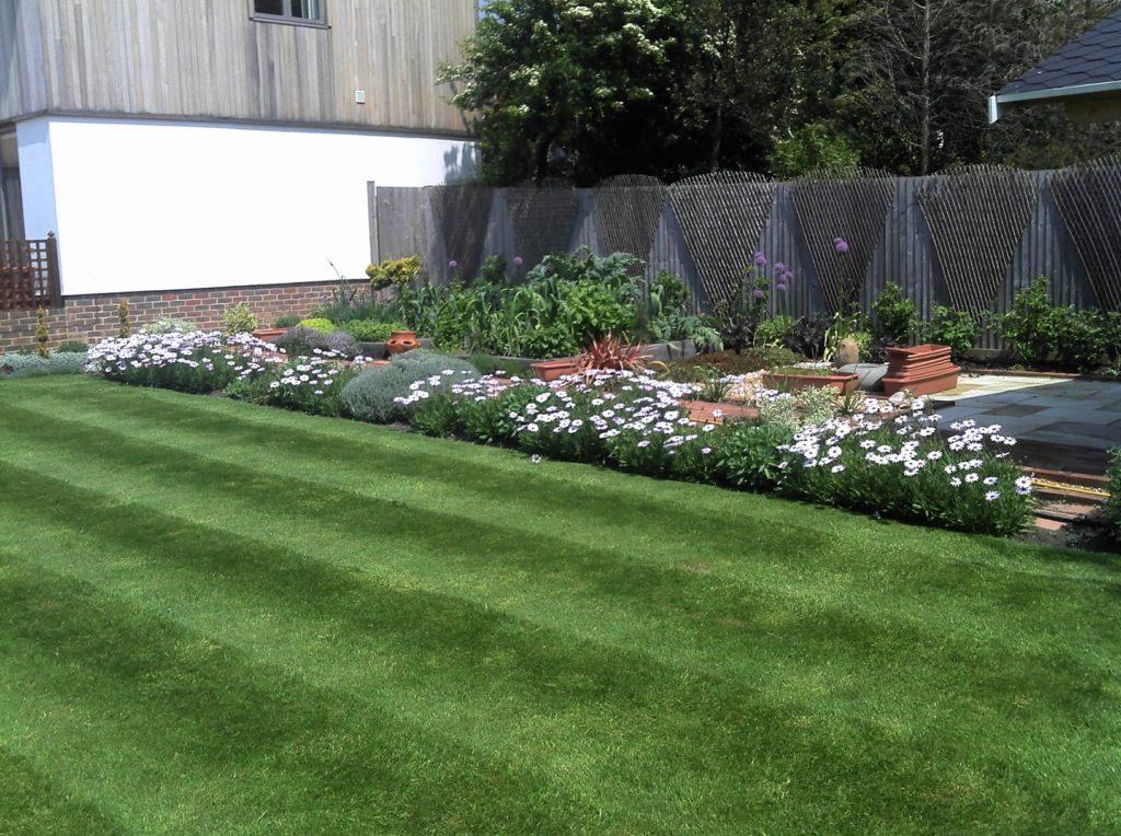 Paving / turfing / planting - Mrs Hymas - Rottingdean